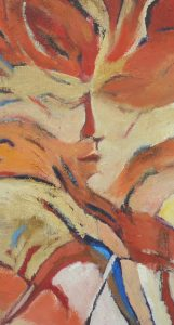 close up of 'Dancing in the Desert'